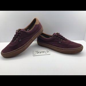 Vans Burgundy With a Gum sole Men's 11.5